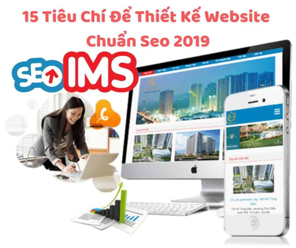 15 Tiêu Chí Để Thiết Kế Website Chuẩn Seo 2019