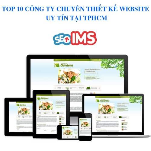 TOP 10 CÔNG TY CHUYÊN THIẾT KẾ WEBSITE UY TÍN TẠI TPHCM