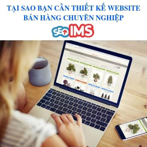 TẠI SAO BẠN CẦN THIẾT KẾ WEBSITE BÁN HÀNG CHUYÊN NGHIỆP