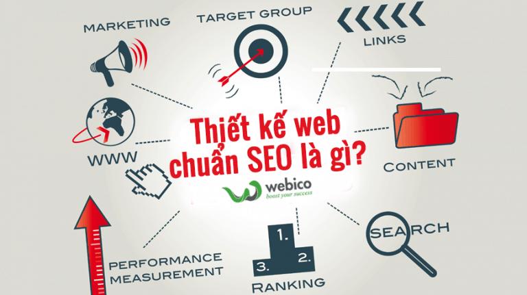Thiết kế web chuân seo là gì