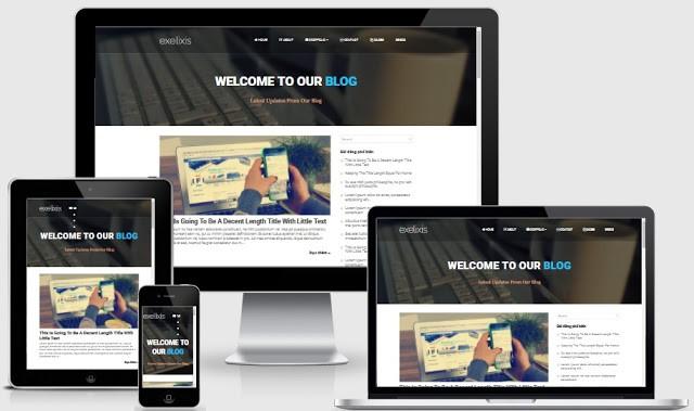 Chia Sẻ 6 Mẫu Template Blogspot Đẹp Mới Nhất 2020