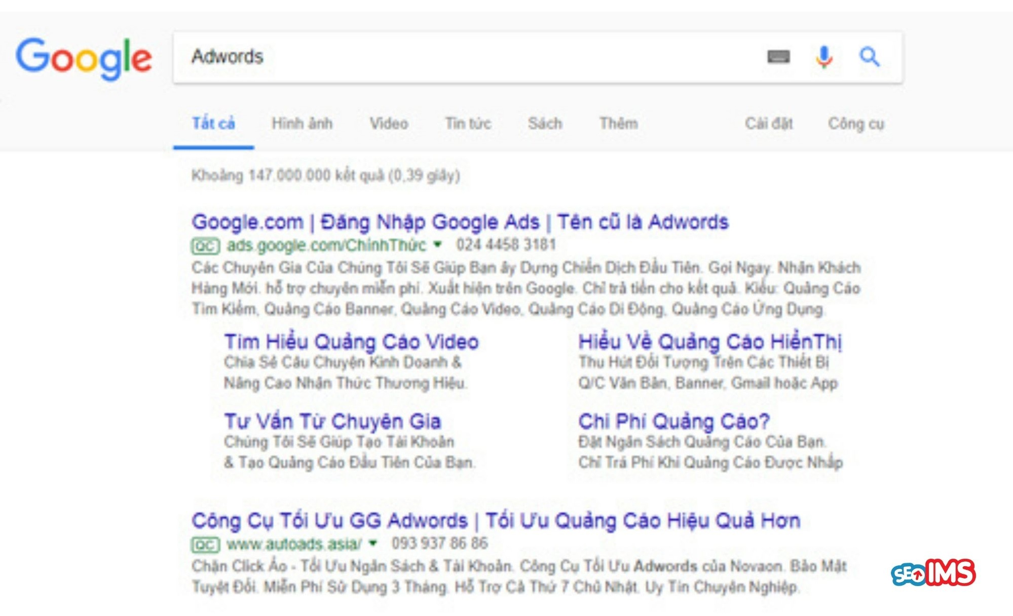 instructions for running google adwords ads